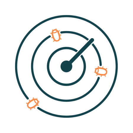 Bug tracking icon