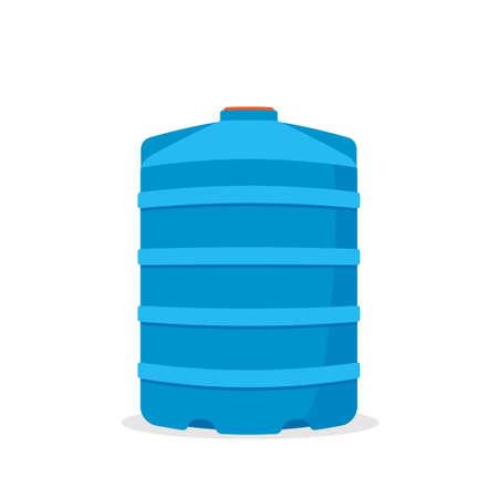 Rainwater tank icon Illustration