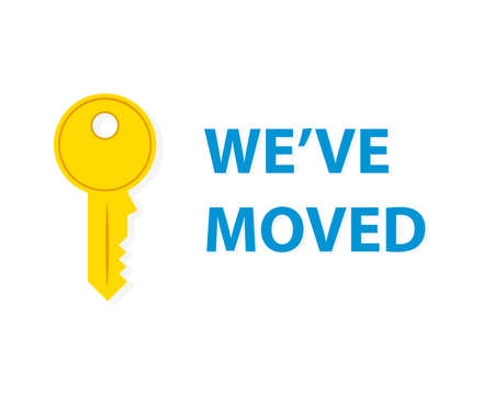 Weve moved announcement