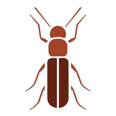 Grain beetle icon