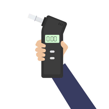 Breath alcohol tester icon