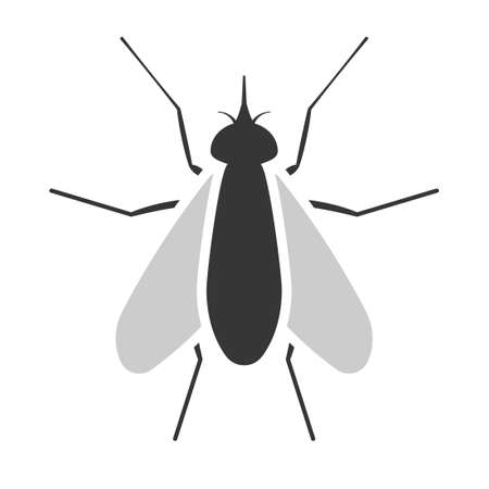 Fly simple icon Ilustracja
