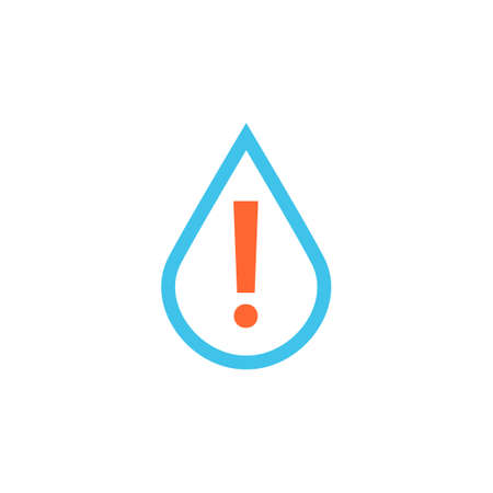 Flood sensor icon. Clipart image isolated on white background