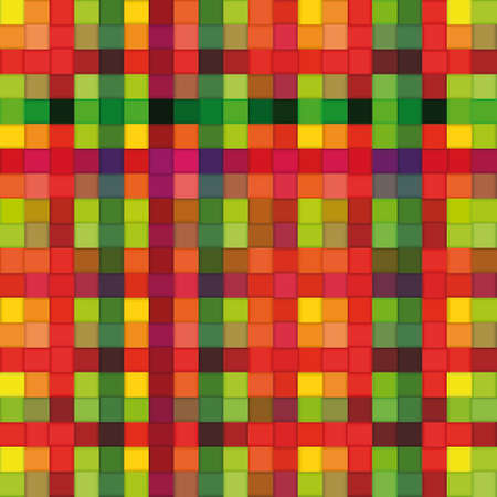 Colored plastic weave mesh. Seamless pattern image