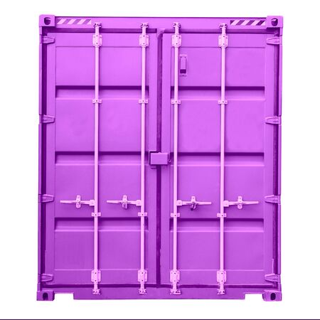 heavy: Freight container. Cargo Container, Transportation, Distribution Warehouse