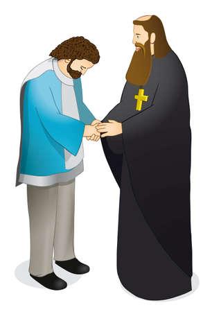humble: Humble man Illustration