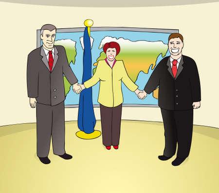negotiations: Negotiations Illustration