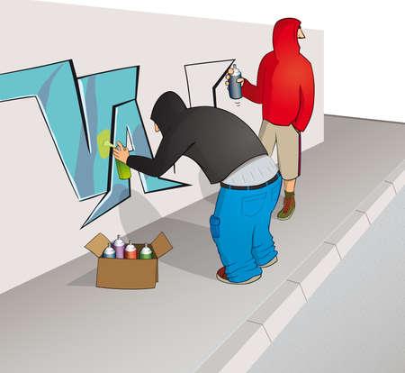 vandal: Street artists