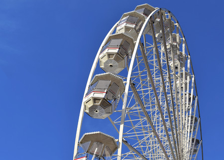 Big wheel in Birmingham city center, United Kingdom