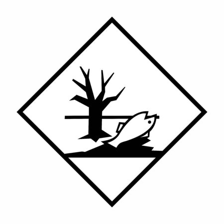 Dangerous for the environment sign or symbol. Vector deign isolated on white background.