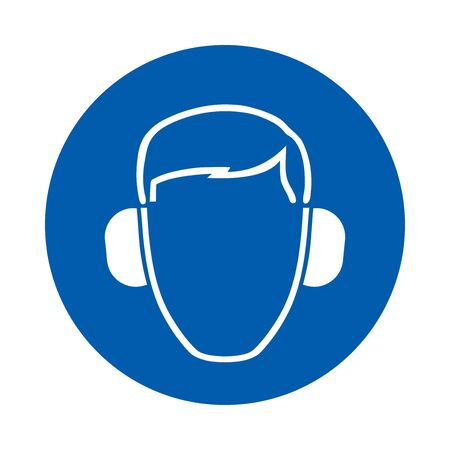 Ear protection must be worn. M003. Standard ISO 7010