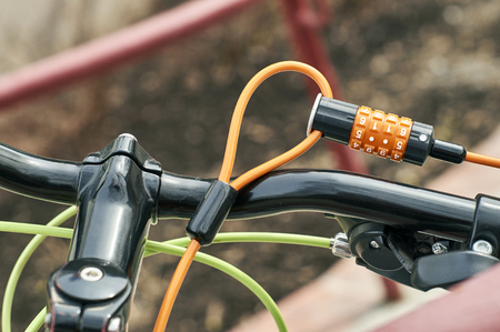 combination: Combination bicycle lock