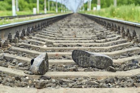 Unfall auf der Eisenbahn
