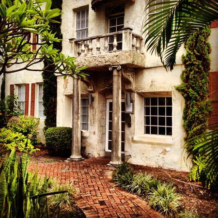 Old villa in Miami