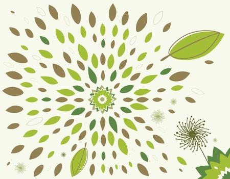 Leaves illustration Stock Vector - 11649781