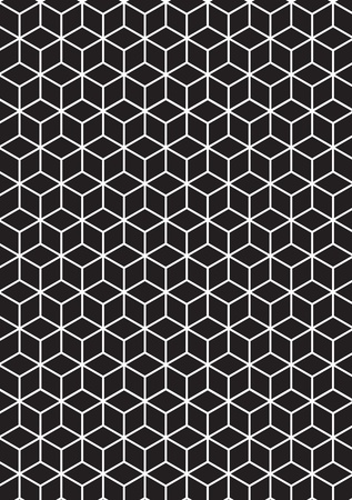 Illustration of 3D Cubes.