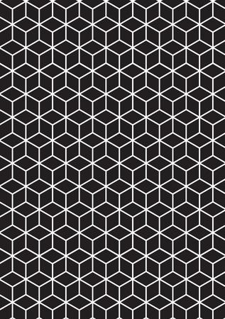 geometria: Ilustraci�n de los cubos en 3D. Vectores