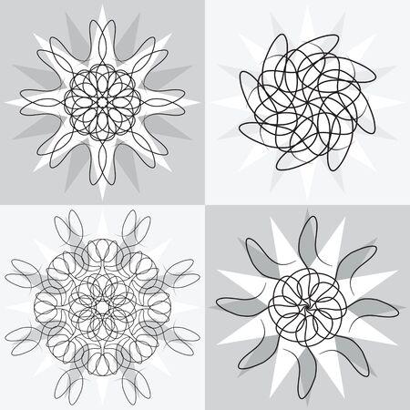 spirograph: Spirograph designs