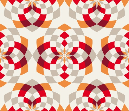 A background design with colorful patterns.
