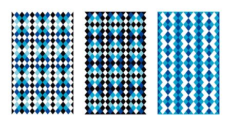 Set of 3 Patterns Illustration