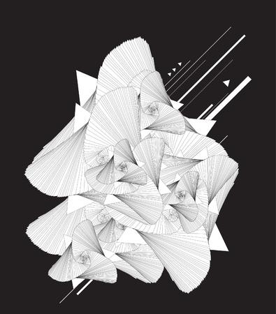 Abstract Illustration.  Illustration