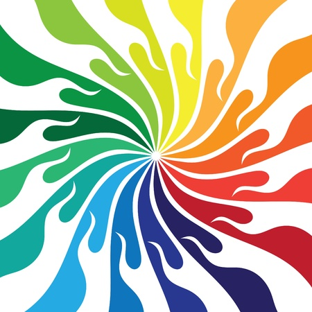 vortex: An abstract colorful background Illustration