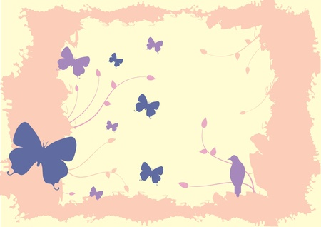 Illustration of Butterflies... Illustration