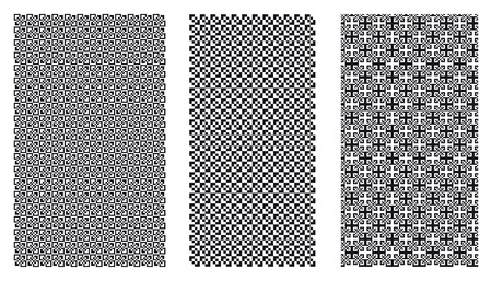 Three Vector Patterns.