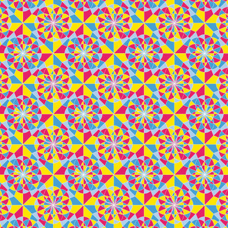 Illustration of a colorful pattern Illustration