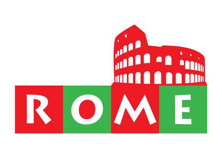 amphitheatre: Rome, Colosseum - Italy