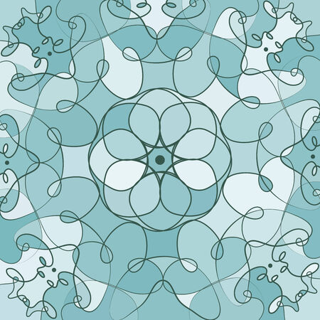 catchy: Vector background design in shades of blue. Illustration
