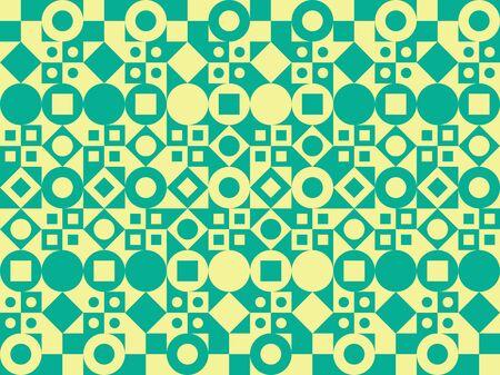 forme: Vecteur de fond. Motif de formes géométriques. Illustration