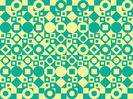 pattern of geometric shapes: Vector background. Pattern of geometric shapes. Illustration