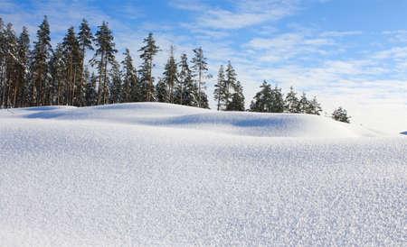 januar: Saubere Januar Schnee