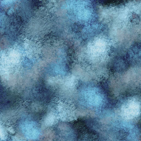 Square grungy abstract background in blue tones