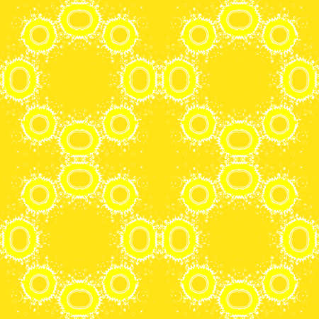 Abstract yellow seamless background, repeating pattern