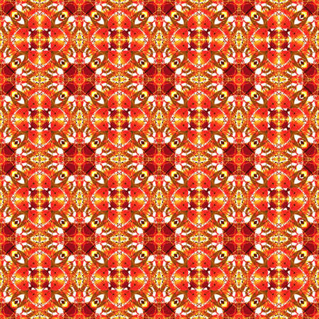 Illustrated abstract seamless background, repeat pattern