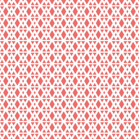 Illustrated patterned repeating pink background