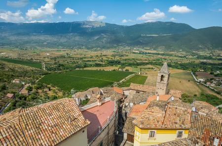 Capestrano, province of L'Aquila, Abruzzo, Italy.