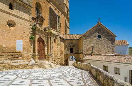 Church of the Incarnation in Alhama de Granada, Andalusia, Spain.