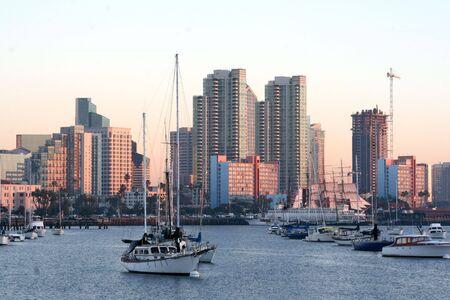 Skyline. Downtown San Diego