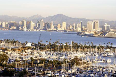 San Diego view.