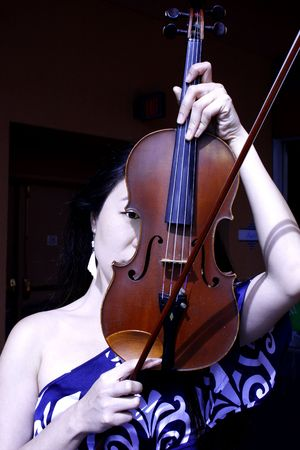 Violin Woman photo