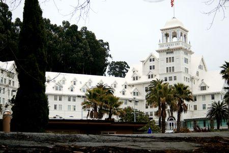 Claremont hotel 1906, Ca Stock Photo