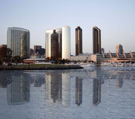 San Diego reflection Stock Photo