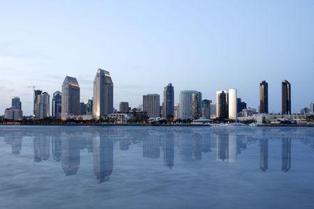 San Diego reflection,ca