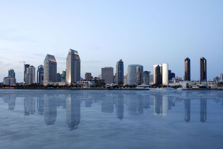 ca: San Diego reflection,ca