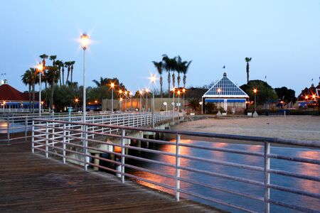 Dock Of The Bay, Coronado island Stock Photo - 889339