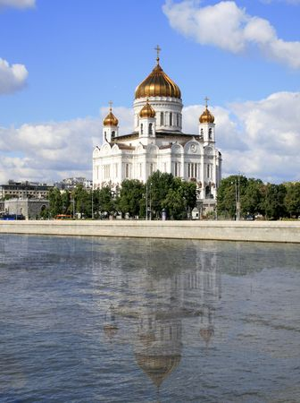 Summer time, old Russian Cathedral