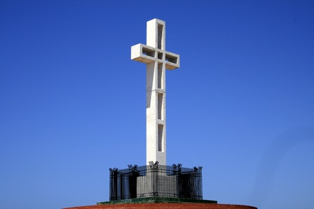 solders: Memorial of solders , the cross in La Jolla, CA
